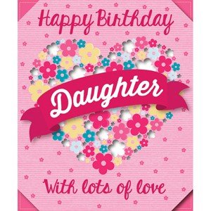 Eurowrap Everyday Box Cards (One Size) (Daughter) by Spot on Gifts