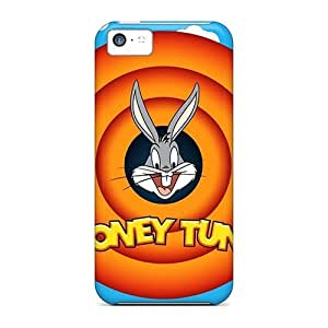 New Snap-on 88caseme Skin Cases Covers Compatible With Iphone 5c- Bugs Bunny Looney Tunes