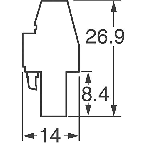 TERM BLOCK PLUG 10POS 90DEG 5MM (Pack of 5)