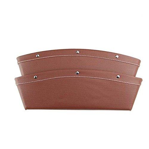 Catcher Leather Console Organizer Storage