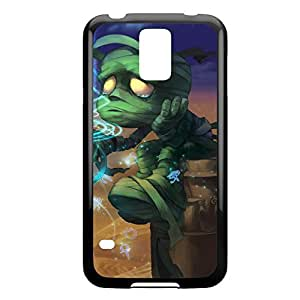 Amumu-001 League of Legends LoL case cover Iphone 5/5S - Plastic Black