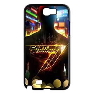 Furious 7 SANDY7038040 Phone Back Case Customized Art Print Design Hard Shell Protection Samsung Galaxy Note 2 N7100