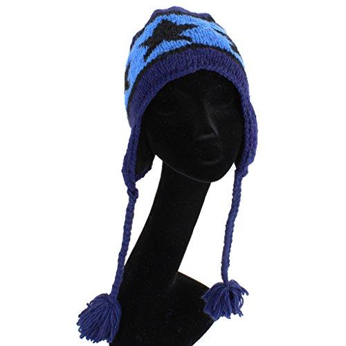 Loud Taille para Hats unique Azul Gorro de hombre punto azul rHZqrxA