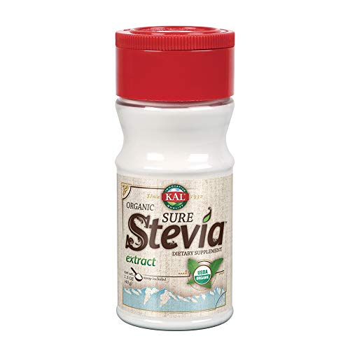 KAL Pure Stevia Extract, Organic,