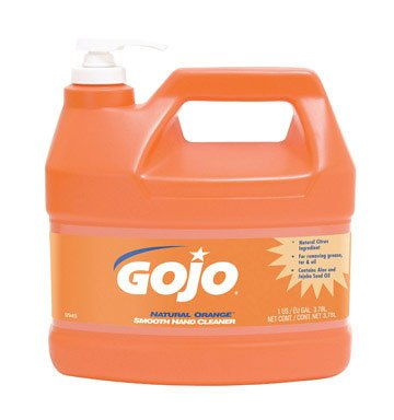 Gojo Smooth Hand Cleaner Natural Orange 1 Gal. Citrus Scent Plastic Bottle