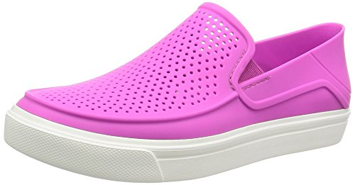 crocs Women's Citilane Roka Slip-On W , Vibrant Violet, 5 M US