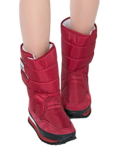 King Warm Oversize Red Boot Cold Women's Fashion Ma Winter Snow Weather rqg7rf