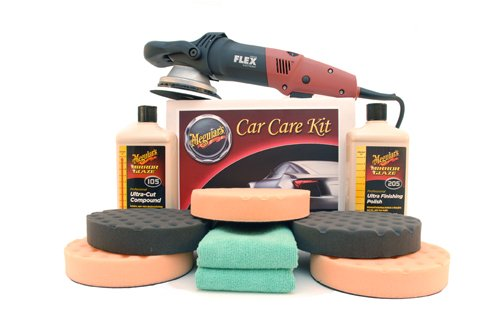 Meguiars FLEX 3401 Ultra Polish Kit with 6.5 Inch Pads