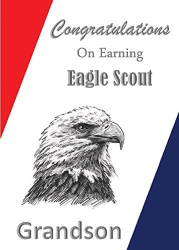 - Eagle Scout Congratulations Card: Grandson Special