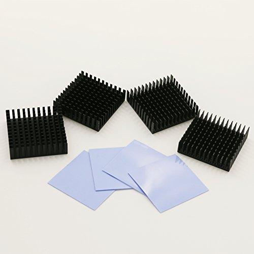 bntechgo-4-pcs-40mm-x-40mm-x-11mm-black-aluminum-heatsink-cooling-fin-4-pcs-40mm-x-40mm-x-05mm-silic