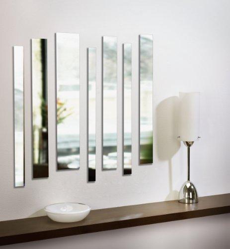 Umbra Strip Wall Mount Mirrors Set Of 7 Buy Online In