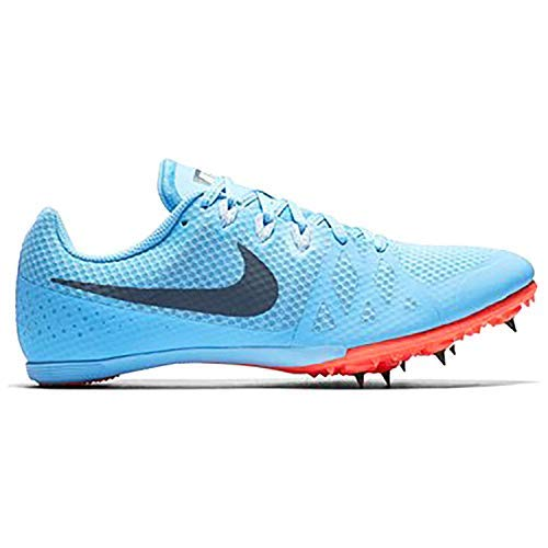Nike Women's Zoom Rival MD 8 Track and Field Shoes (Blue/Red, 7.5 B(M) US)