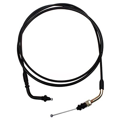 "GOOFIT 79"" Throttle Cable for 50cc Chinese Moped Scooter Motor Scooter: Automotive"