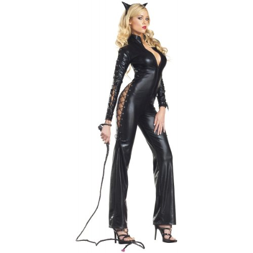Two-Faced Catwoman Costume - Small/Medium - Dress Size 4-8 ()