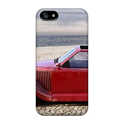 Amazon.com: Premium [XZvP-2676KT]old Red Car In The Beach ...