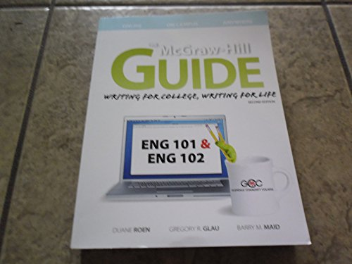 the mcgraw hill guide writing for college writing for life gcc ed rh slugbooks com McGraw-Hill Math Book mcgraw hill guide writing for college writing for life 4th edition