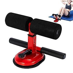 ARTF Équipement portable Sit Up Bar aspiration exercice au sol Support rembourré cheville support réglable entraînement…