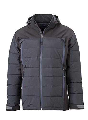 Materiale Tecnico Outdoor In Black Giacca Uomo Termica Misto Men's Jacket Hybrid UnAx6BW