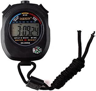 Niome Waterproof Chronograph Timer Stopwatch Sport Counter Digital Odometer Watch