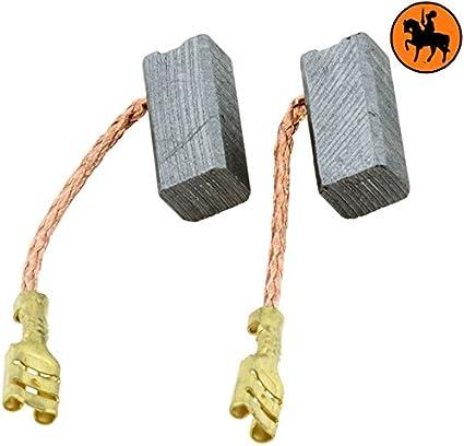 Escobillas de Carbón para BOSCH GBH 24 VFR -- 7x8x17mm -- 2.8x3.1x6.7''