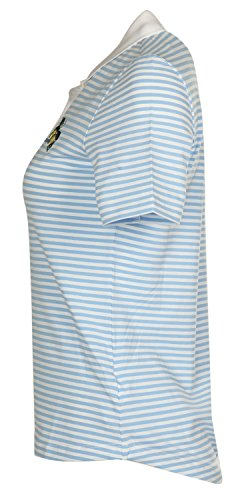 Bogner Femmes Poloshirt Bleu clair/Blanc Zelda 5683-2838-321, taille:46