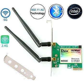 Amazon.com: Gigabyte GC-WB11ACD-I Wireless Dual Band PCI ...