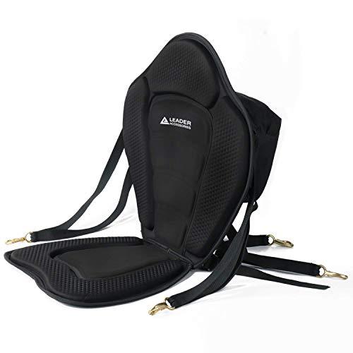 Leader Accessories Black Deluxe Kayak Seat Boat Seat(Black)