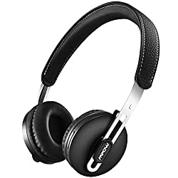 Mpow Bluetooth Headphones On Ear, Stereo Bluetooth Headset, Convertible Lightweight Headphones, Wireless & Wired Headphones With Mic For Cell Phonespctv