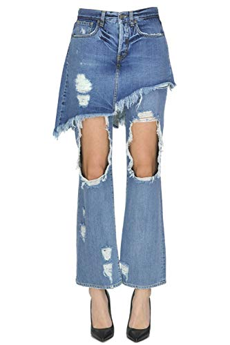 Jeans Cotone Donna Gaelle Mcgldnm04015i Blu Paris nTRFYq1W