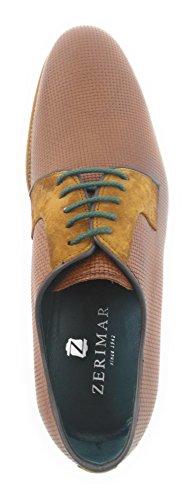 Pelle Design Rivestimento Interno Zerimar Per Fashion In Uomo Scarpe Realizzate Della x7XpF0