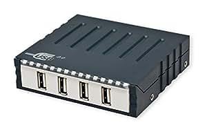 "Syba 3.5"" Internal USB 2.0 Hub Mounts into 3.5"" Slot or Use Externally Components SD-U2HUB-4"