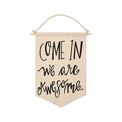 Art Awesome (Collins Come In We Are Awesome Canvas Banner)