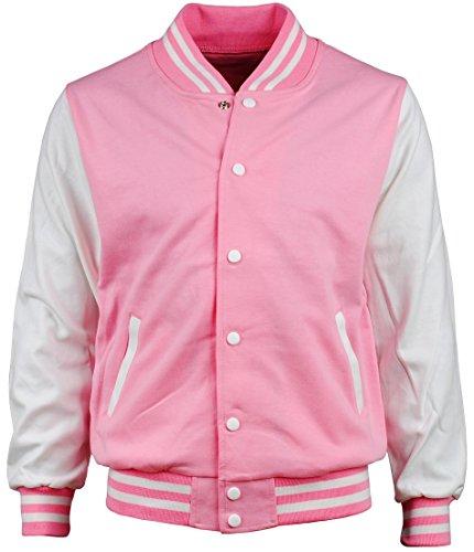 Pink Baseball Jacket - 7