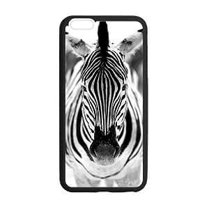 iPhone 6 Plus Case, [Zebra] iPhone 6 Plus (5.5) Case Custom Durable Case Cover for iPhone6 TPU case(Laser Technology)