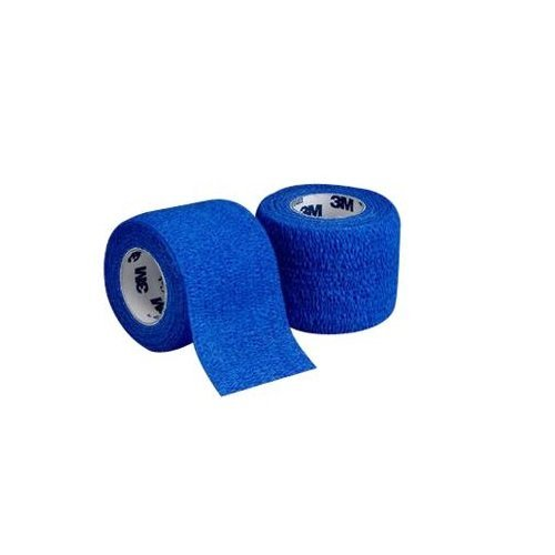 3M Health Care 1584B Self-Adherent Wrap, 4'' x 5 yd. Size, Blue (Pack of 18)