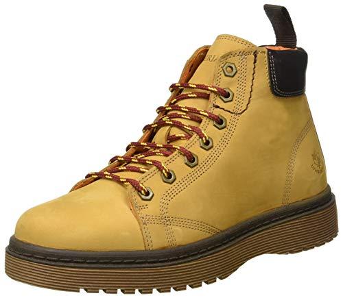 Uomo dk Brown yellow Army Chukka Stivali M0001 Lumberjack Giallo tqzTS