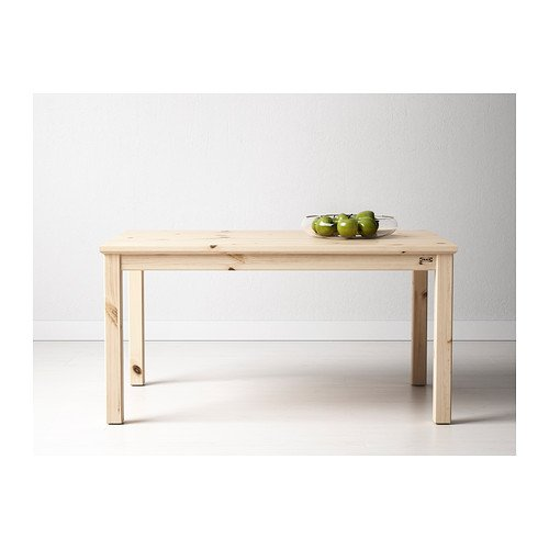 Enjoyable Ikea Nornas Coffee Table Pine 89X59 Cm Amazon Co Uk Ncnpc Chair Design For Home Ncnpcorg