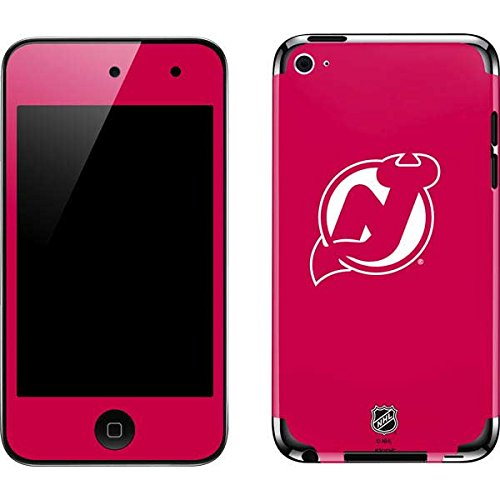 (NHL New Jersey Devils iPod Touch (4th Gen) Skin - New Jersey Devils Color Pop Vinyl Decal Skin For Your iPod Touch (4th Gen))