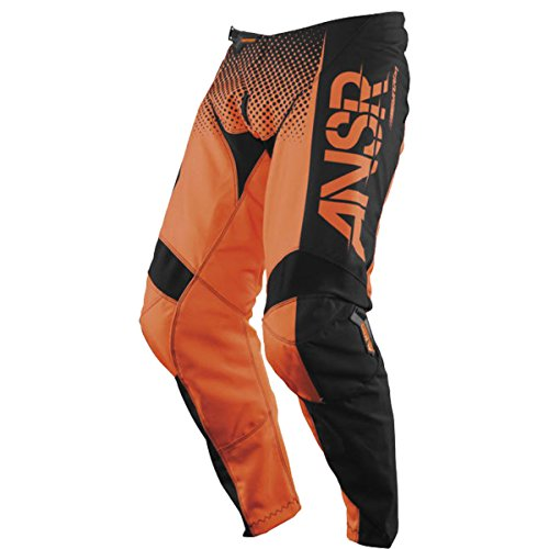 Answer Racing A17.5 Syncron Boys Off-Road Motorcycle Pants - Orange/Black / Size 24