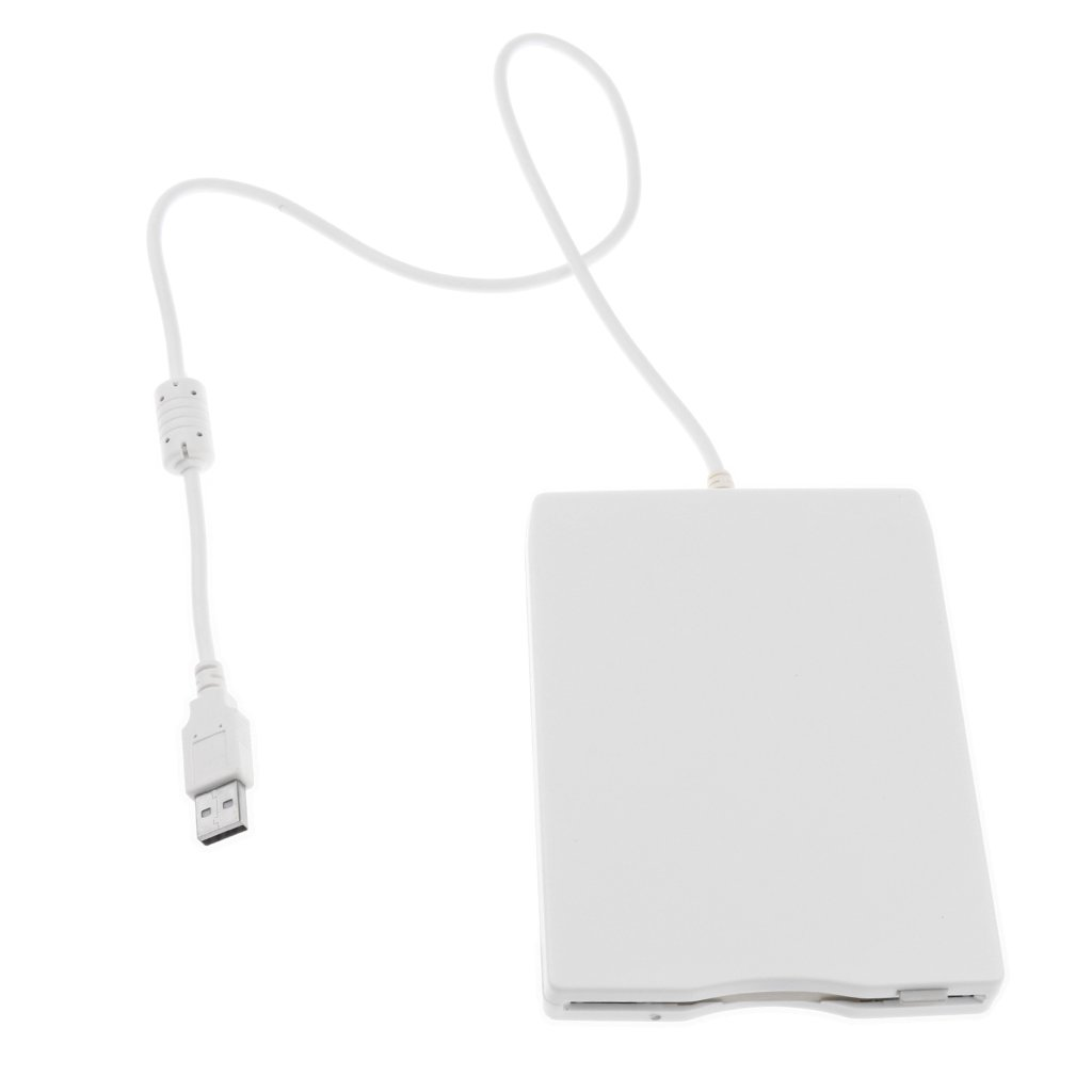 Sharplace Unidad de Disquete USB Externa con Intefraz USB USB 1.1/2.0 Compatible
