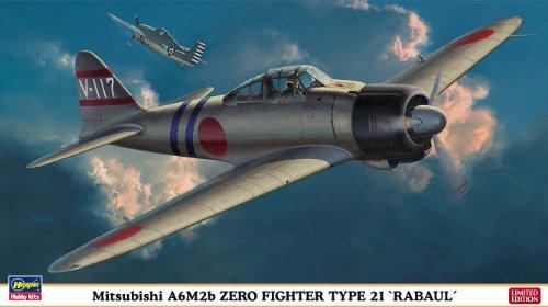 HASEGAWA 07359 1/48 Mitsubishi A6M2B Zero Rabul Ltd