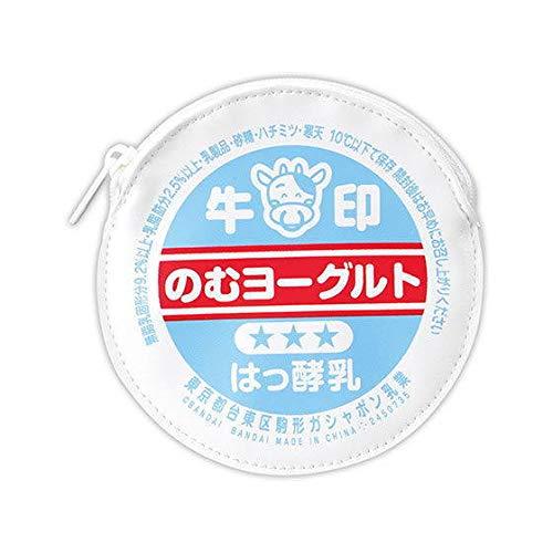牛乳びんのふたポーチ [6.のむヨーグルト](単品)