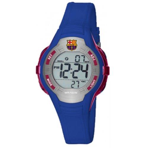 Reloj RADIANT F.C.Barcelona BA14601 Unisex Silicona Azul Cronógrafo: Amazon.es: Relojes