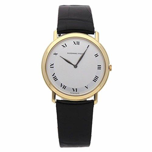 Audemars Piguet Jules Audemars Mechanical-Hand-Wind Male Watch (Certified Pre-Owned)