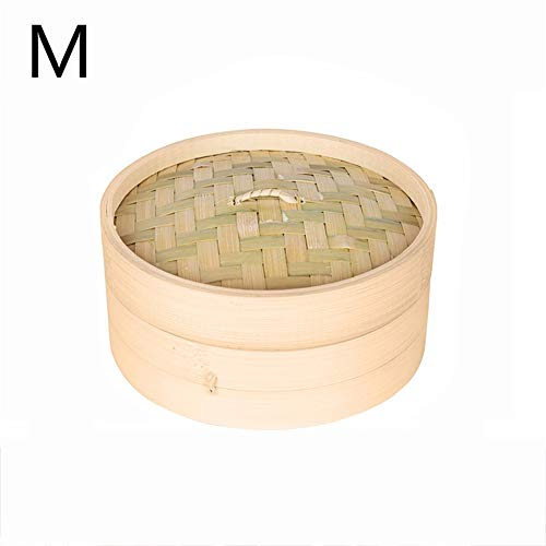 - Gano Zen One Cage and One Cover Cooking Bamboo Steamer - Fish Rice Vegetable Snack Basket Set Kitchen - Cooking Tools