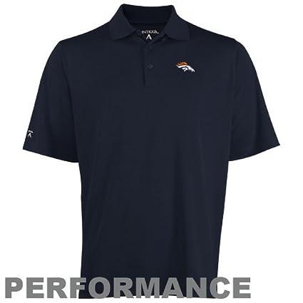 b8413c629 Amazon.com   Antigua NFL Men s Denver Broncos Pique Xtra Lite Desert ...