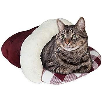 Amazon.com : haoun Cozy Cuddle Cave Pet Bed Removable