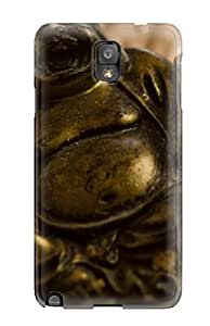 High Quality Shock Absorbing Case For Galaxy Note 3-zen Statue