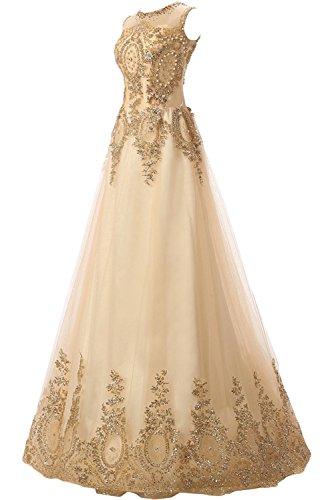 ネイティブ車くすぐったい(ウィーン ブライド)Vienna Bride イブニングドレス セレブリティドレス ロングドレス Aライン 丸襟 透け感 ラインストーン 上品 ノースリーブ アップリケ