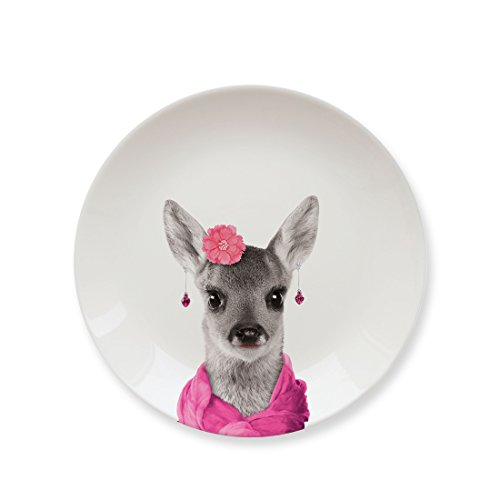 MUSTARD Ceramic Dinner Plate I Dishwasher safe I